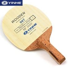 YINHE 987, корейский стиль, лезвие для настольного тенниса(5 слоев дерева), японская ручка(JS), ракетка для пинг-понга, летучая мышь