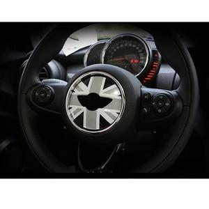 Image 5 - Adhesivos de decoración para el centro del volante Union Jack para BMW MINI Cooper JCW F55 F56 accesorios de estilo de coche Interior