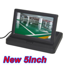 Dvd-Player Monitor Digital-Screen Folding Car-Display Video-Input CCD DC Color 2-Channel