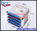 1x32 Caja LGX Casete Tarjeta de Inserción SC/UPC PLC Módulo de 1:32 32 Puertos de Fibra Óptica PLC divisor divisor