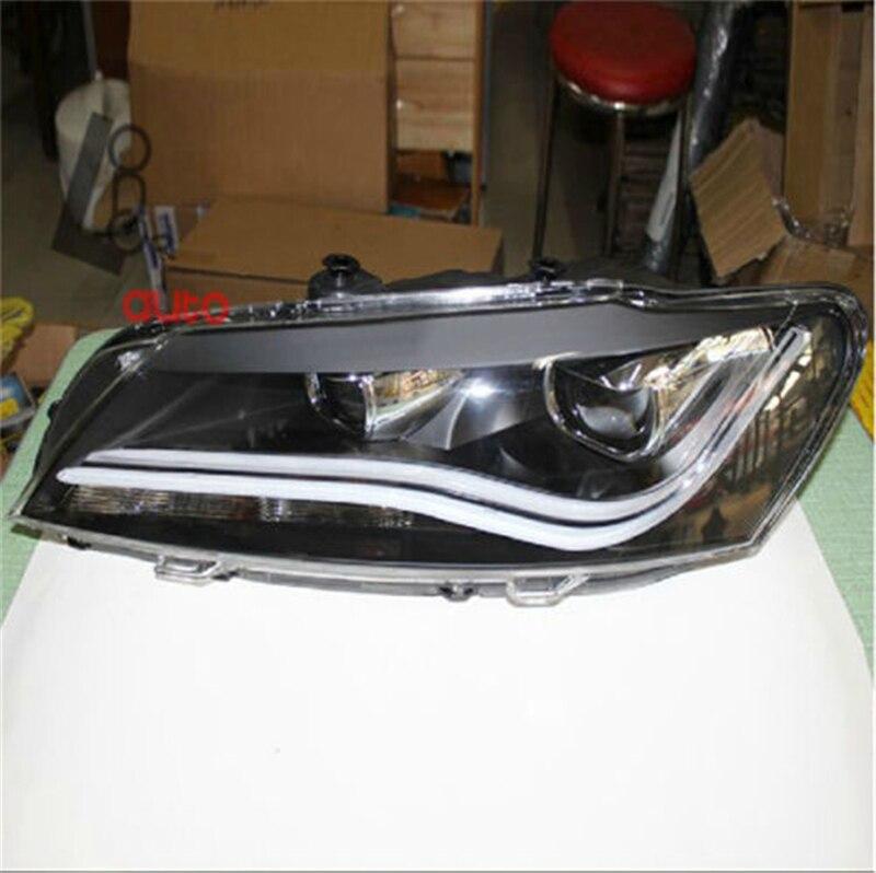 car styling LED Headlights Bi Xenon Projector Lens LDV2-NEW FOR A8 Passat V6 B7 2011-2014 brand new original replacement hid bi xenon projector headlights for toyota camry 2012 2014