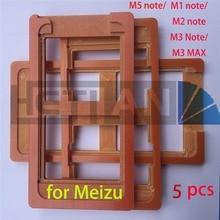 1 шт. PF клей плесень ЖК-дисплей экран стеклянную форму держатель для Meizu M3 Примечание M2 Примечание M1 Примечание M3 max ОСА формы, Meizu синий