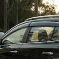 For Jeep Grand Cherokee 2014 2015 Window Wind Deflector Visor Rain Sun Guard Vent 4PCS/ Set chromium styling stickers