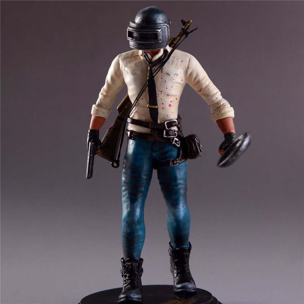 Pubg Figure H1Z1 Player Unknown S Battle Grounds PUBG Model Doll PVC 17cm Game Figurine Action Figure 180102