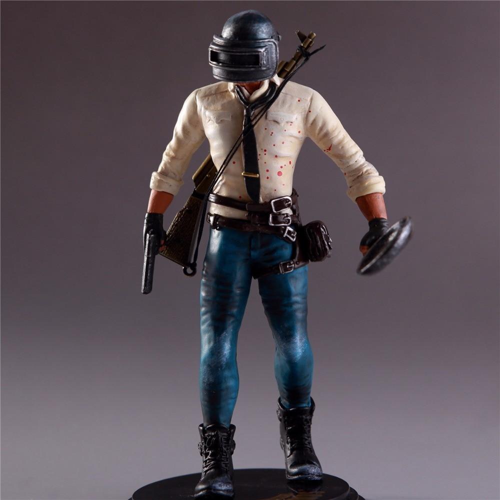 Фигурка pubg H1Z1 игрока, неизвестная модель s Battle Grounds PUBG, кукла из ПВХ 17 см, игровая фигурка, фигурка 180102