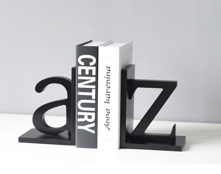Decoration Arts crafts Home Nordic minimalist modern creative Bookends Book Study of American letters cabinet housing complex