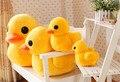 23 cm nueva llegada pato amarillo de peluche muñecas juguetes de peluche de la venta caliente el mejor regalo, pato de peluche de juguete muñeca