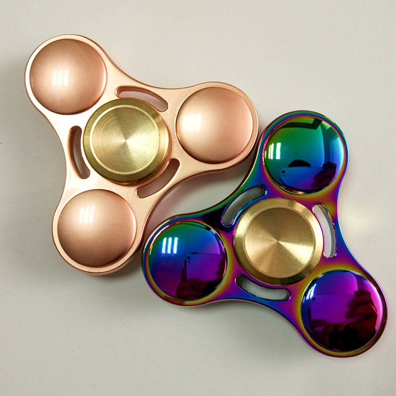NEW Premium EDC R188 Gold Titanium Fidget Spinner USA