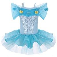2015 Hot Girl Elsa Dress Elsa Anna For Girl Princess Cosplay Cinderella Dresses Party Dress Ballet
