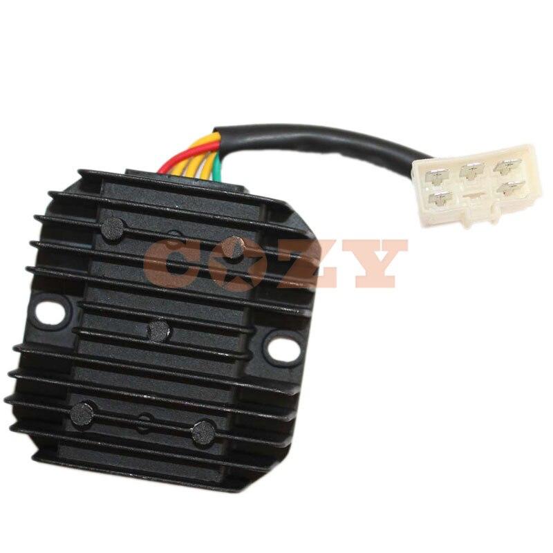 Voltage Regulator Rectifier For LINHAI 170MM 173MN YP250 VOG250 260cc 300cc  ATV UTV Scooter(China