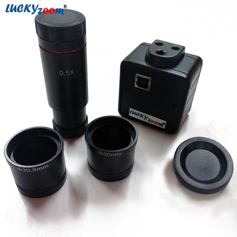 Luckyzoom HD 5MP USB Cmos Camera Adattatore per oculare digitale per - Strumenti di misura - Fotografia 2