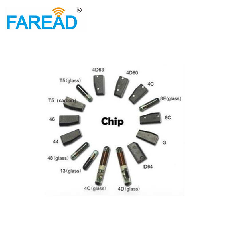 100pcs/lot Car Key Chips New Transponder Chip G Chip 80bit Carbon For Toyota 12x6x3cm