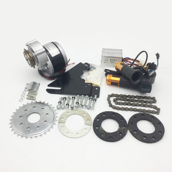 Ordinary bicycle mountain speed bicycle modified electric vehicle complete set 250W350W24V36V kit