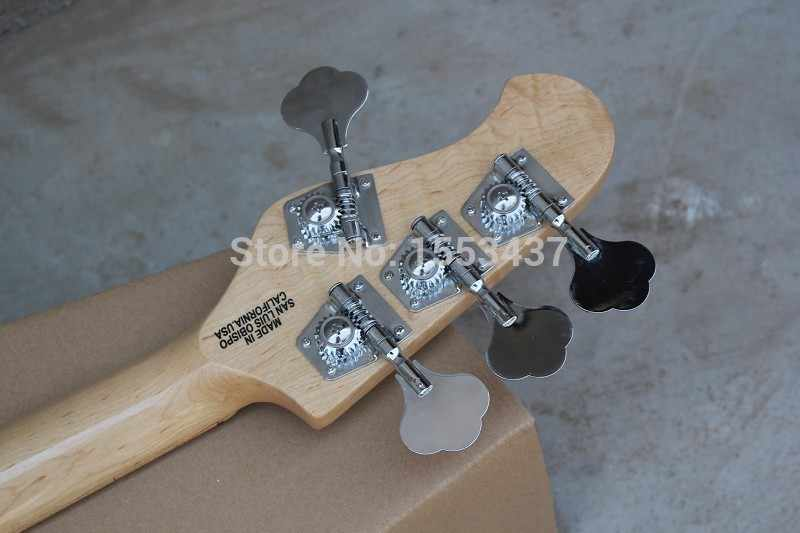 Музыкальные инструменты 4 струны бас Music Man stingray электрическая бас-гитара с 9 В Батарея INITIATIVE для пикапы hott3