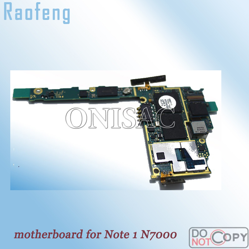 Raofeng disassembled high quality Europe Version For Samsung S2 i9100 Motherboard Unlocked Mainboard with fulll Chip Logic Board(China)