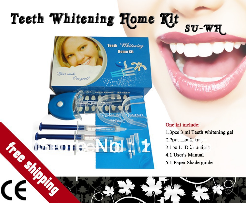 Free Shipping 2 Boxes Best Sales Home Teeth Whitening Kits Peroxide