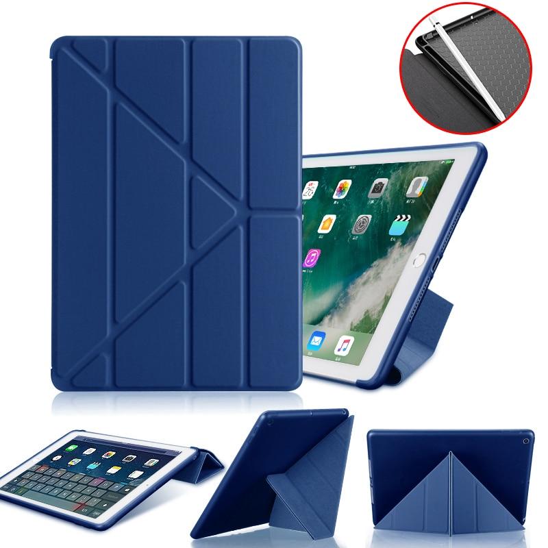 PU Leather Silicone Case For Ipad Pro 9.7