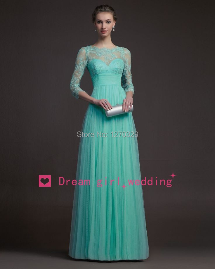 Turquoise Lace Prom Dresses 2015_Prom Dresses_dressesss