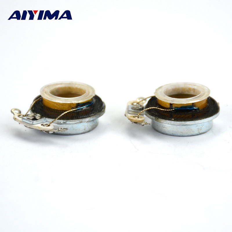 AIYIMA 2Pcs Audio Portable Speakers 18MM 1W 8Ohms Vibration Speaker DIY For Home Theater