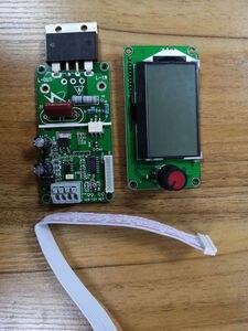 Image 3 - 100A / 40A 12864 display LCD Digitale Doppio Encoder a Impulsi Spot Saldatore Saldatura Trasformatore Della Macchina Scheda di Controllo di Controllo del Tempo