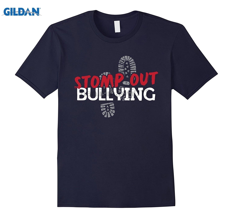 GILDAN Stomp Out Bullying Cause T-Shirts Hot Womens T-shirt