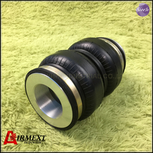SN108160BL2-BCR /Fit BC coilover BR Thread M46*1.5-M12 /Air suspension Double convolute rubber airspring/airbag shock absorber