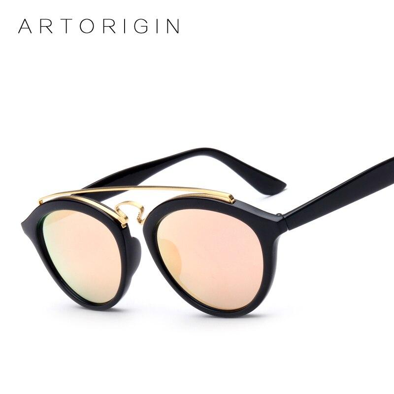 ARTORIGIN Ladies Sunglasses Women Brand Designer Double Bridge GATSBY Style Sun Glasses Mirror Oculos De Sol