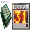 K Band 24ghz Microwave Sensor Car Speed Limit Display