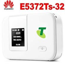 Unlocked Huawei E5372T E5372TS-32 150M 4G LTE FDD Mobile Router  plus with 2pcs 4g antenna цены онлайн