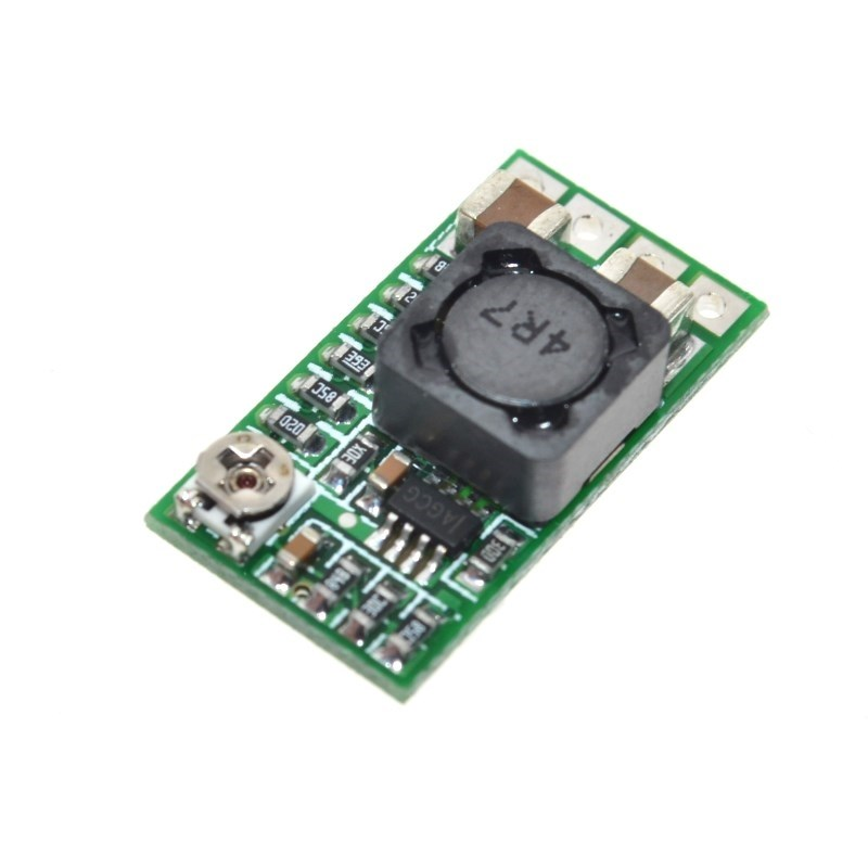 5PCS Mini DC-DC 12-<font><b>24V</b></font> To 5V 3A Step Down Power Supply <font><b>Module</b></font> Voltage Buck Converter Adjustable 97.5% 1.8V 2.5V 3.3V 5V 9V 12V image