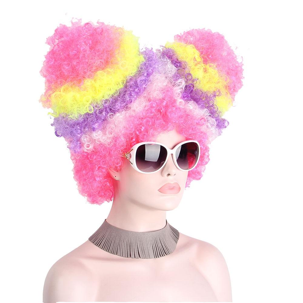 Gothique Punk court noir Mix Rouge Garçon Homme Anime Custome Cosplay Perruque Free wig cap