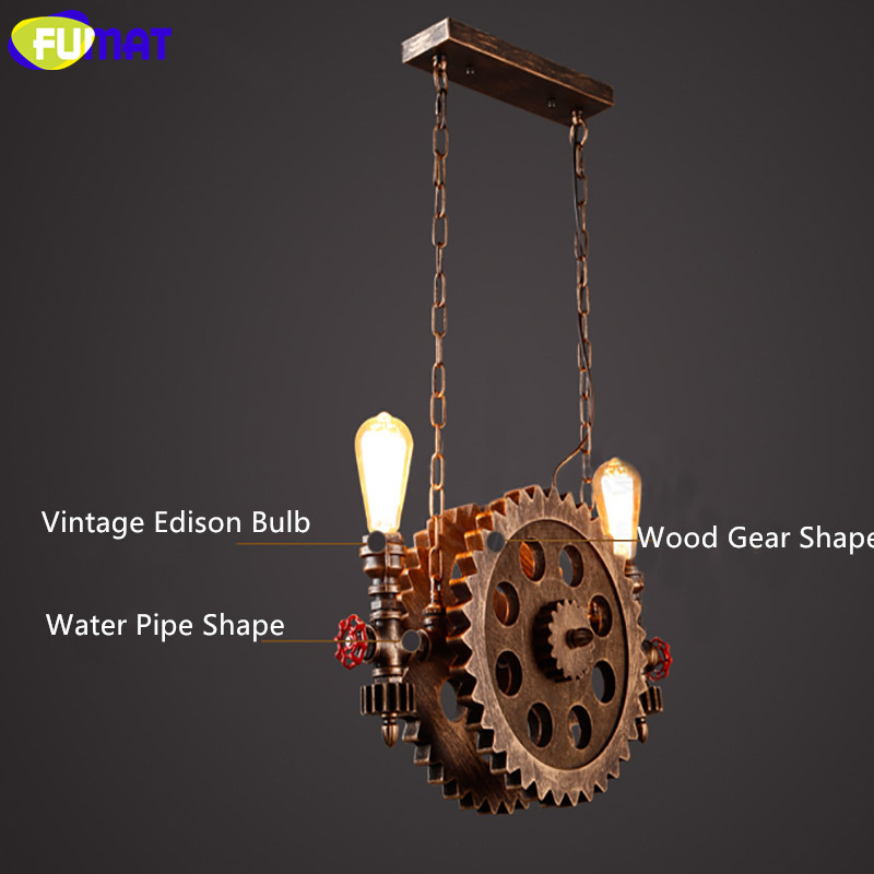 Gear Pendant Light 19