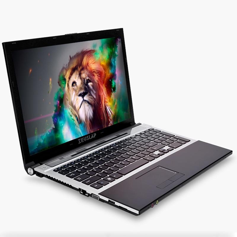 ZEUSLAP 15.6inch Intel Core I7 CPU 8GB+64GB+500GB 1920*1080P FHD WIFI Bluetooth DVD-ROM Windows 7/10 Laptop Notebook Computer