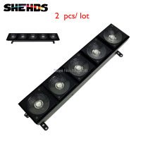 2 Pcs Lot HOT LED 5X10W Matrix Stage Lighting Five Heads LED Matrix Light 3 IN