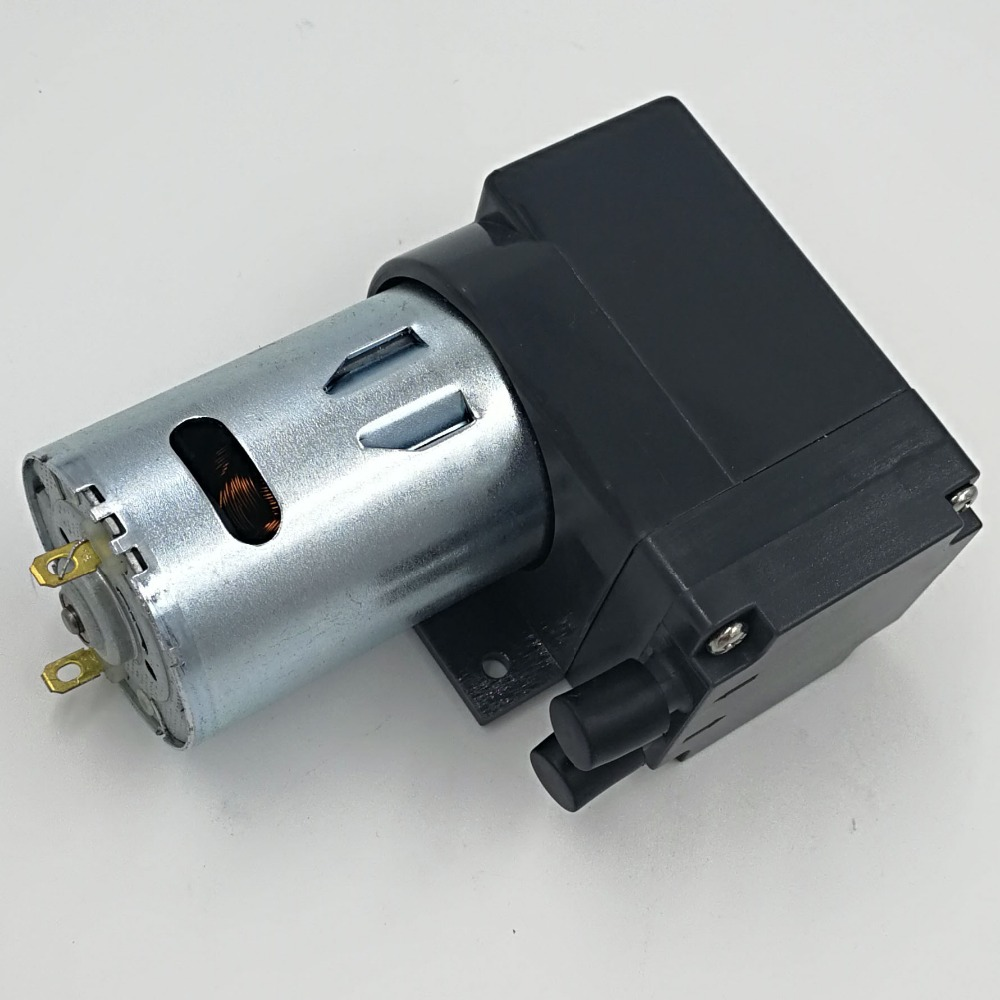 12L/M dc electric diaphragm brush mini easy pump for air ...