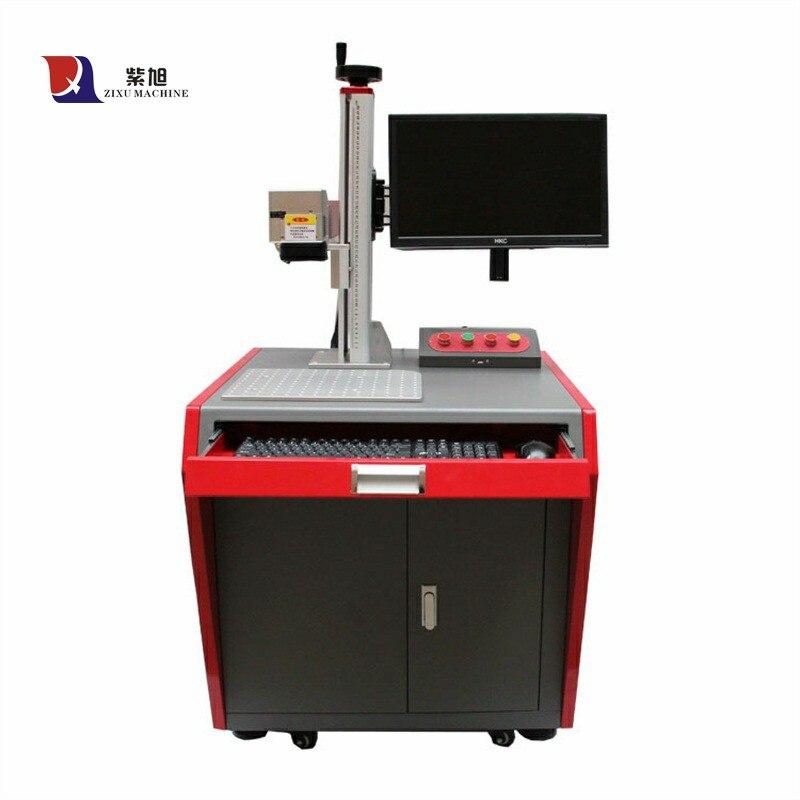 Machine de marquage Laser d'étiquette d'oreille animale Machine de marquage Laser de Tube en métal de 30 w rf