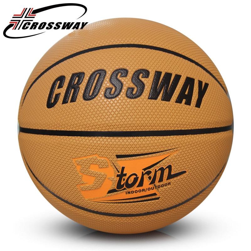 все цены на CROSSWAY basketball ball size 7 basketball training bola de basquete tamanho oficial entrenamiento de baloncesto canestro 706 онлайн