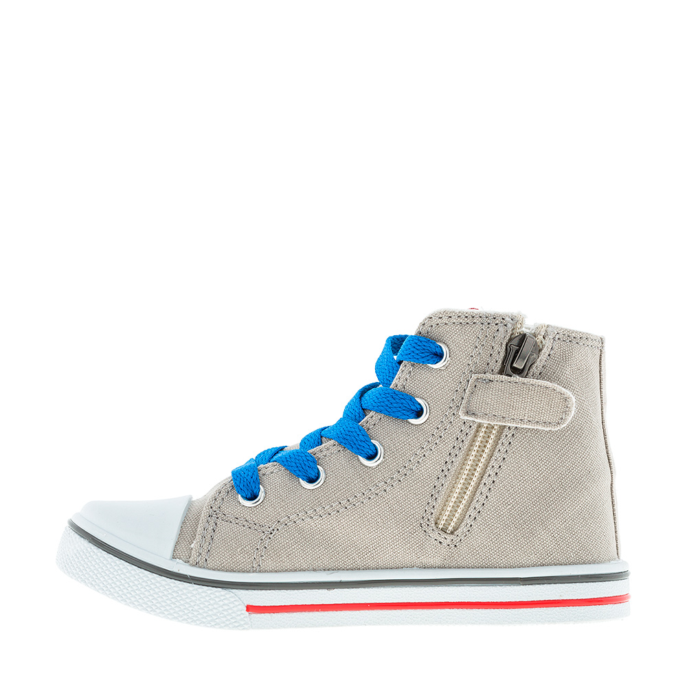 [Available with 10 11] Sneakers with zipper Transformers zipper side lace up pu sneakers