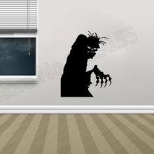 цена на YOYOYU Halloween  Creative Ghosts Wall Sticker Vinyl Pattern Wall Stickers home decoration Holiday Halloweens Eve DIY ZW51