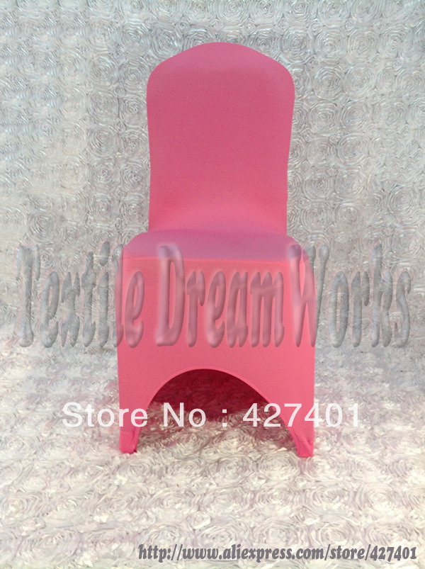 Hot Pink Spandex Chair Covers Large ᗔhot Sale Light Lycra Cover Wedding For Decoration Party