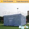 Forma da casa de inflatable biggors inflável quadrado tenda para festa de casamento