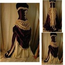 SC-959 викторианское готическое/винтажное платье на Хэллоуин театральное платье на заказ