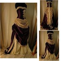 SC 959 Victorian Gothic/Vintage Dress Halloween Theater dress Custom made