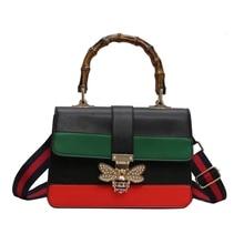 JUILE brand women Messenger bag personality animal lock Messenger bag female luxury shoulder bag fashion wild hit color handbag