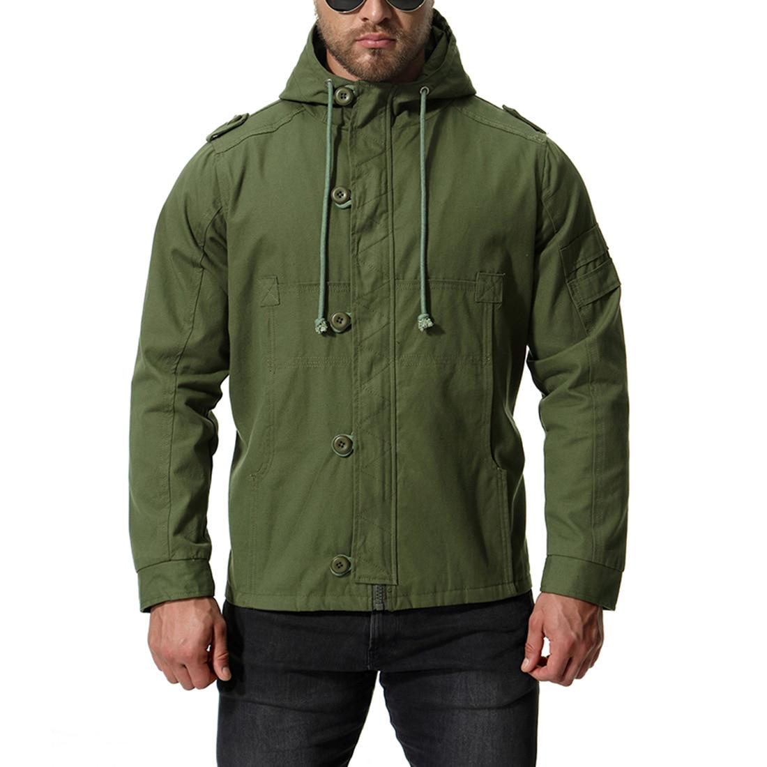 Nz686 Lâche Capuche Homme army Noir Casual Poitrine Automne Chaqueta Mujer Blousons Hommes Avec Manteau Unique kaki Green Veste 4g11O