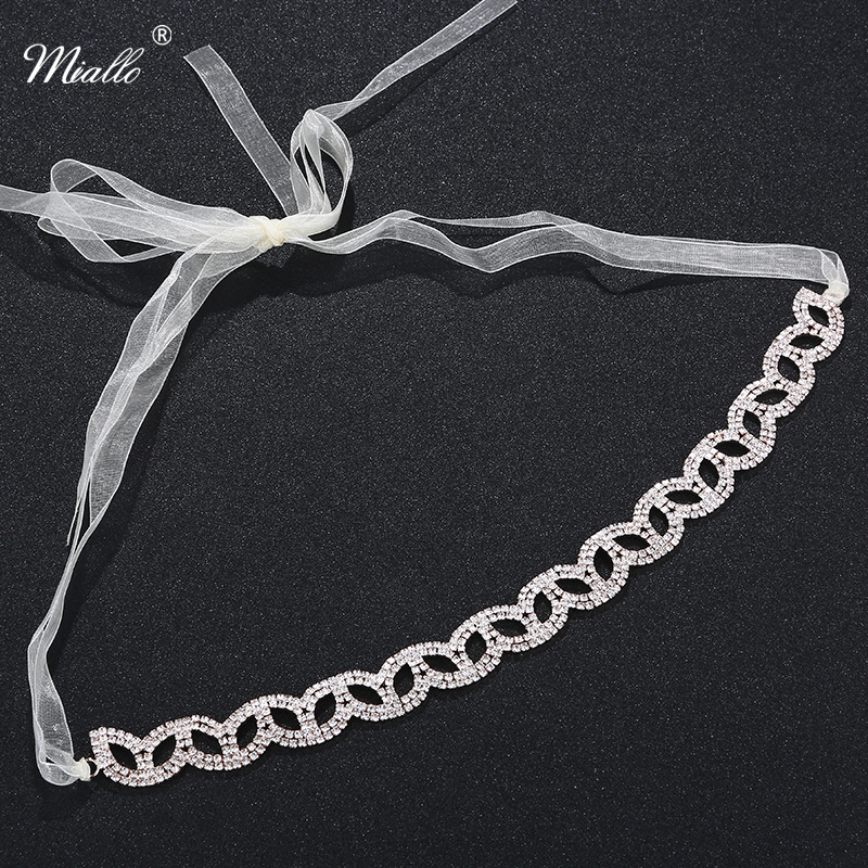 2Colors Full of rhinestone with Lace band headband for bridal Hair Jewelry Hair Vine Jewelry