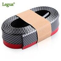 Legua car front lip bumper strip car styling rim protector rubber lip skirt protector car door seal rubber strips for car doors