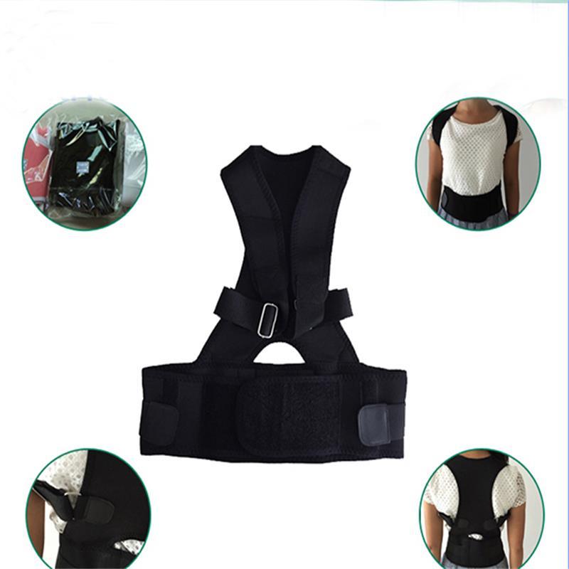 Hot Shoulder Chest Belt Men Women Back Shoulder Posture Support Corrector Back Belt Brace S/M/L/XL/XXL
