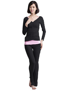 e351f59519c80 2PC Sets Plus Size Women s yoga sets Modal women gym clothes Fitness wears  sport Training Dance Suit workout exercise sportswear on Aliexpress.com