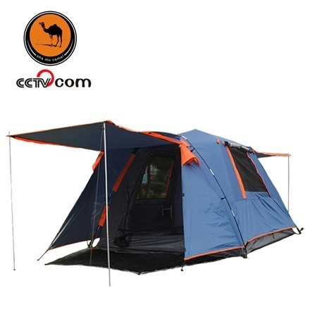 Camel automatic double layer tent outdoor 3 - 4 camping tent square outdoor bivvy tent 1